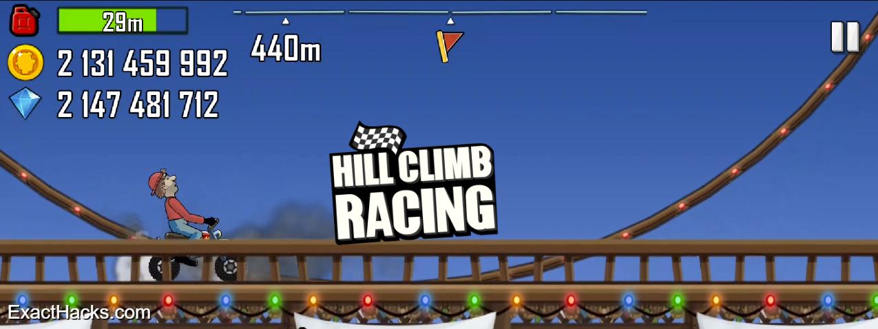 Hill Climb гонки 3.35.0 Apk Mod Необмежених Гроші