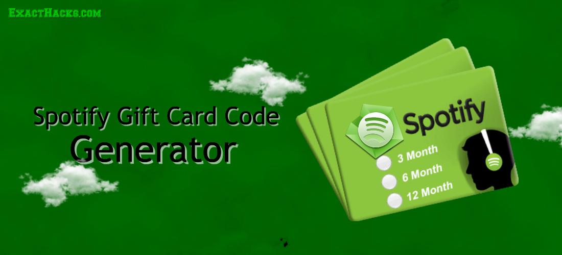 ताजा Spotify उपहार कार्ड कोड जेनरेटर 2020